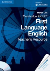Cambridge IGCSE First Language English Teacher's Resource Book with CD-ROM: Book by Marian Cox