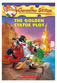 Golden Statue Plot (English) (Paperback): Book by Stilton Geronimo Stilton