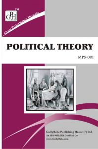 MPS001 Political Theory (IGNOU Help book for MPS-001 in English Medium): Book by GPH Panel of Experts