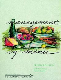 Management by Menu: Book by Lendal H. Kotschevar
