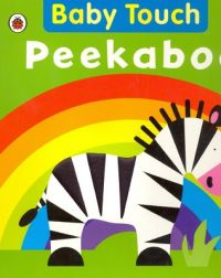 Baby Touch: Peekaboo (English) (Board book): Book by Ladybird