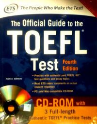 OFFICIAL GUIDE TO TOEFL TEST (English) 4th Edition (Paperback): Book by Educational Testing Service