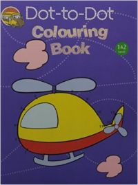 Dot-To-Dot Colouring Book Level 1&2