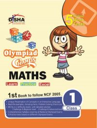 Olympiad Champs Mathematics Class 1 with 5 Online Mock Tests: Book by Disha Experts