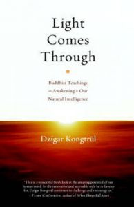 Light Comes Through: Buddhist Teachings on Awakening to Our Natural Intelligence: Book by Dzigar Kongtrul