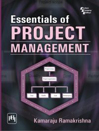 ESSENTIALS OF PROJECT MANAGEMENT: Book by RAMAKRISHNA KAMARAJU