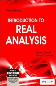 Introduction to Real Analysis | Book by Robert G  Bartle | Best