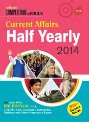 Current Affair Half Yearly 2014: Book by Arihant Experts