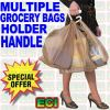 Multiple Grocery Bags Carrying Handle
