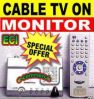 TV Tuner External Box For Lcd, Tft, CRT Monitors