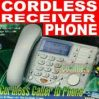 Cordless Phone With Cordless Receiver + Free Gift