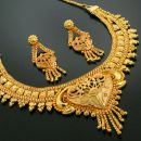Shop or Gift 24Crt Pure Gold Forming Heavy Party Wear Set Online.