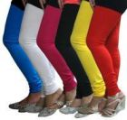 Bt Collection Multicolor Leggings Pack Of 6