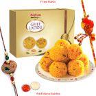 Haldiram's Pure Tasty Ghee Ladoo N Rakhi