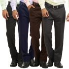GWALIOR PACK OF 4 STITCHED FORMAL TROUSERS