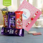 Smooth Choco Rakhi Gift
