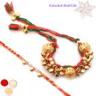 Rakhi for Brother Rakhis Online - Gungroo Bangle Bhaiya Bhabhi Rakhi