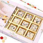 Rakhi Gifts for Brother Rakhi Chocolates-Choco Vermicilli Chocolate Box (12 pcs) with Pearl Rakhi