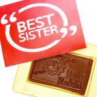 Rakhi Gifts for Brother Rakhi Sugarfree Chocolates - Best Sister Sugafree Chocolate Box