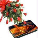 Express Roses & Choco Love Combo - Diwali Gifts