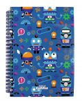 Smily Kiddos | Smily A5 Lined Notebook (blue)