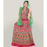 Miscellaneous Maroon Resham Work Chaniya Choli