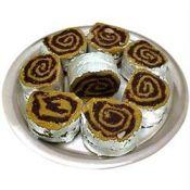 Kaju Rolls From Haldiram