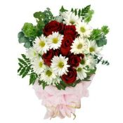 White And Red Bunch