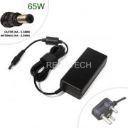ADAPTER 65W CHARGER FOR TOSHIBA SATELLITE 1105 1200 1200-S121 1200-S122