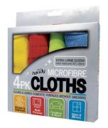 Pack Of 4 Microfibre Multipurpose Cleaning Cloth