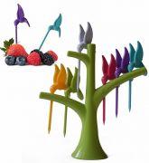 Hummingbird Fruit Fork Set Of 6pcs