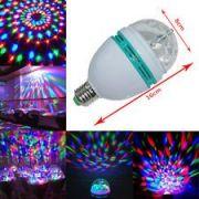 Abel Set Of 2 LED Full Colour Rotating Lamp Spot Light 360 Rotating Lamp
