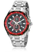 Imported Casio Edifice EF-539D-1A4VDF (ED463) Silver/Black Chronograph watch for men