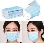 Anti Dust And Pollution Mask For Corona Virus Free Protection (disposable Mask)