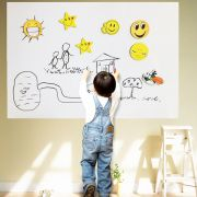 Kawachi Whiteboard Wall Sticker Removable Vinyl Sticker Decal With One Free
