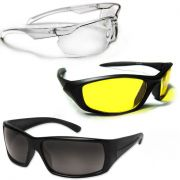 Kawachi Night & Day Vision Driving Goggles Summer Special Goggle Pack Of