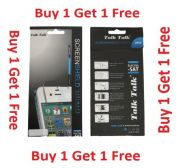Talk Talk High Quality Screen Guard For Samsung Champ Neo Duos C3262 - Buy 1 Get 1 Free