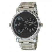 Stylox Black Dial Chain Analog Watch - For Men