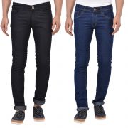 Stylox Pack Of 2 Cotton Slim Fit Jeans -