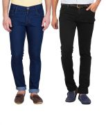 Stylox Pack Of 2 Jeans For Men (product Code - Dnm-1002-3-2dnm)
