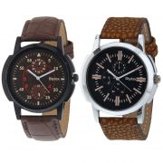 Stylox Set Of 2 Casual Watch For Men (product Code - Wh-2cmbo-141-143)