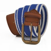 Stylox Blue And Brown Casual Belt [stx208]