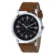 Stylox Stylish Black Dial Formal Watch For Men (product Code - Wh-143)