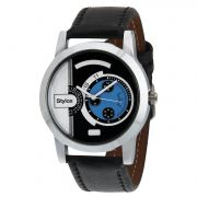 Stylox Stylish Black Dial Formal Watch For Men (product Code - Wh-144)