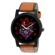 Stylox Black & Red Stylish Dial Mens Watch (product Code - Wh-stx145)