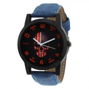 Stylox Black & Red Stylish Dial Mens Watch (product Code - Wh-stx146)