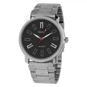 Stylox Black Analog Watch For Men [Stx214]