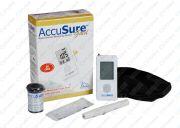 Dr. Gene AccuSure Accu Sure Gold Blood Glucose Monitor   10 Test Strips