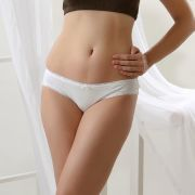 Cloe Set Of 2- Cotton Comfy Briefs In White And Black PN0166R59