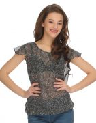 Clovia Gorgette Georgette Printed Top (Product Code - Ww0002P18 )